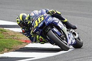 Rossi satisfecho en las prácticas del viernes
