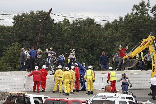 IndyCar Pocono: Robert Wickens nach Horrorcrash im Krankenhaus