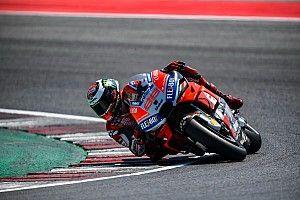 Test a Misano: due Ducati fanno il vuoto, Rossi ancora in difficoltà con la Yamaha