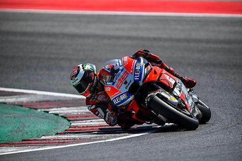 Tempuh 72 lap, Lorenzo puncaki tes privat Misano