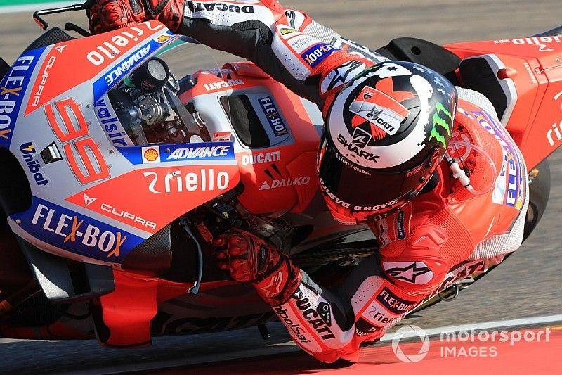 MotoGP FT2 Thailand: Lorenzo stürzt schwer, Dovizioso Schnellster
