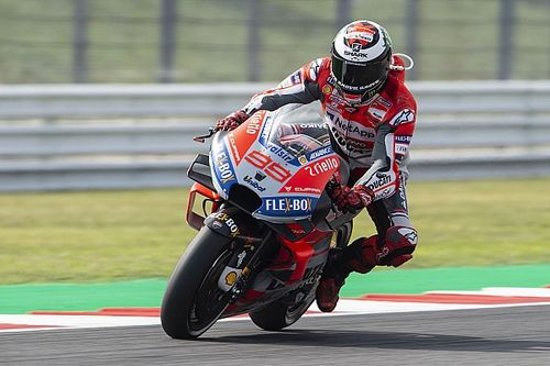Misano MotoGP: Lorenzo takes dominant pole, Marquez crashes