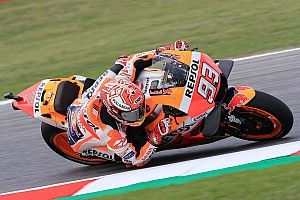 MotoGP San Marino: Marquez puncaki warm-up, Rossi ke-11