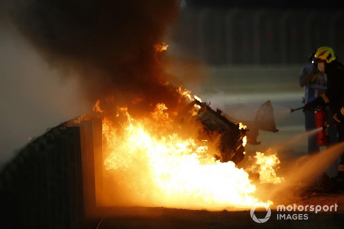 Video Grosjean: ma cosa ha causato il terribile crash?
