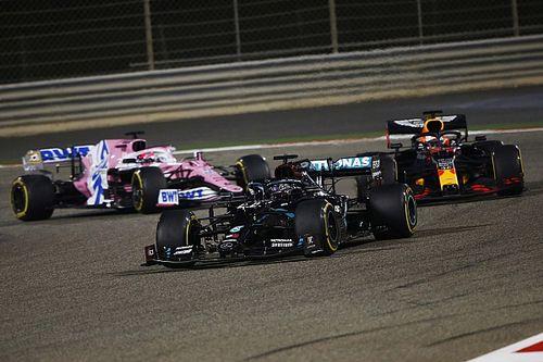 How Verstappen lost the race that followed Grosjean's escape