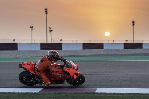 Petrucci manda a mitad de una última jornada en Qatar sin actividad