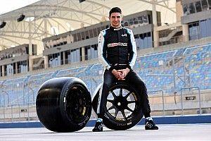Test Pirelli: Ocon prende confidenza con le gomme da 18