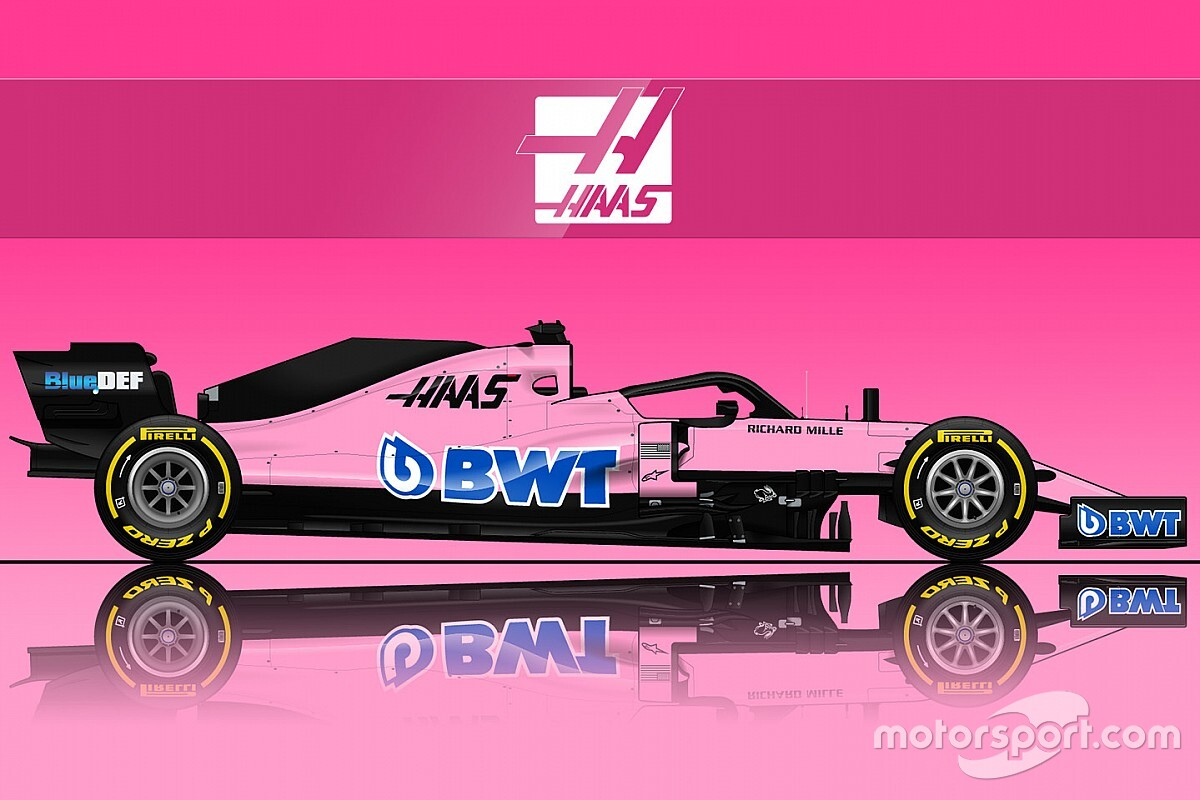 ¿Un Williams o un Haas rosa? BWT negocia con ellos