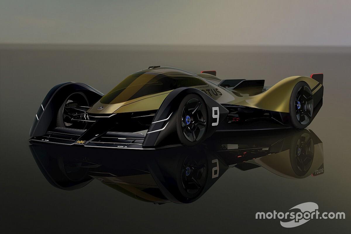 WEC: Lotus presenta un prototipo elettrico per il 2030