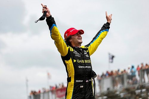 St. Petersburg IndyCar: Herta in control to beat Newgarden to victory