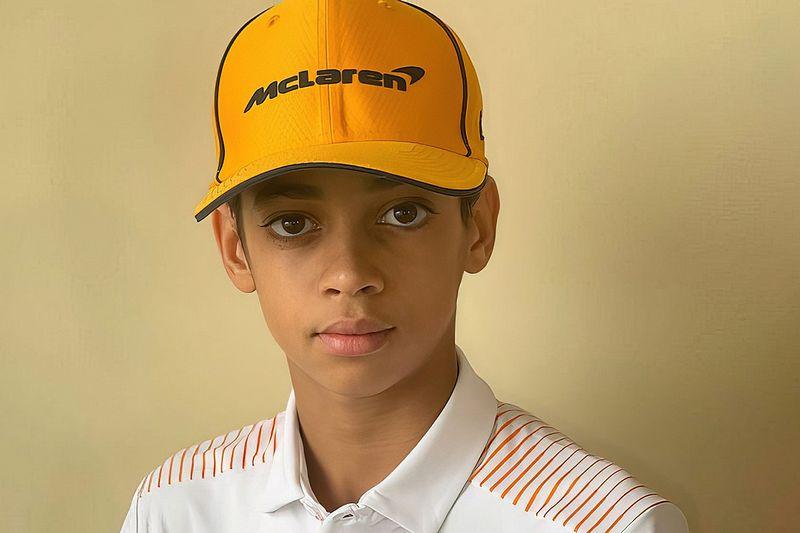 McLaren F1 team signs 13-year-old American karting champion