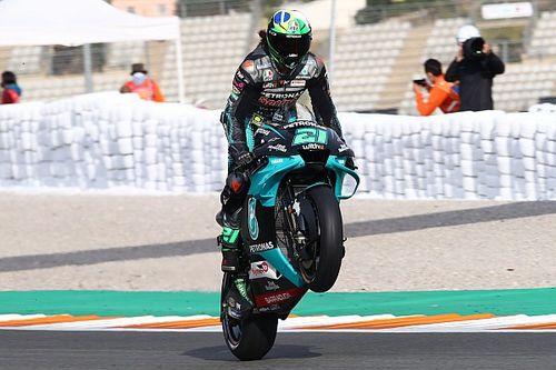 MotoGP, Valencia: grande pole di Morbidelli, Mir solo 12°