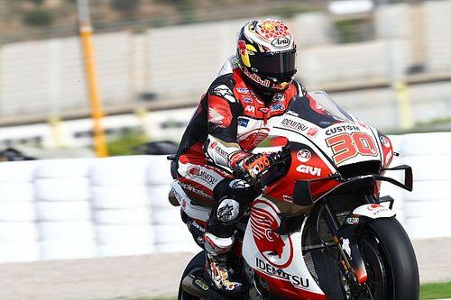 MotoGPバレンシア予選:好調の中上貴晶、3連続でフロントロウ! PPはモルビデリ