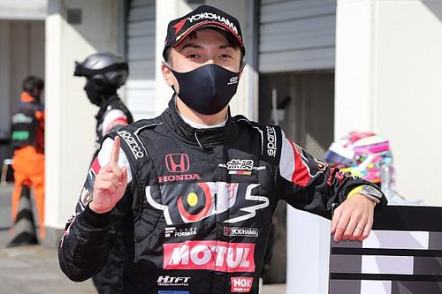 Autopolis Super Formula: Nojiri on pole, Hirakawa crashes