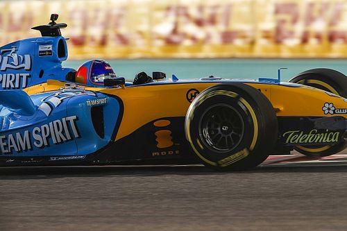 Alonso, Abu Dhabi'de R25 ile 1:39'lu derecelere inmiş!
