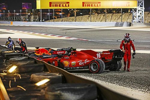 Leclerc bestraft voor incident in openingsronde GP van Sakhir
