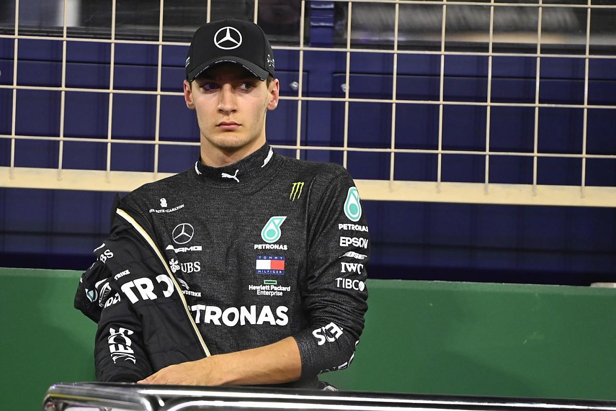 F1: Russell evita pensar que pode estar na Mercedes em 2022