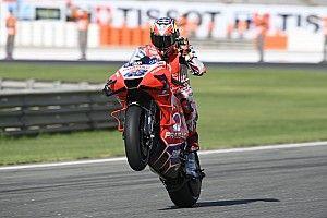 MotoGP, Valencia, FP2: Miller vola, bene le Ducati. Cade Mir