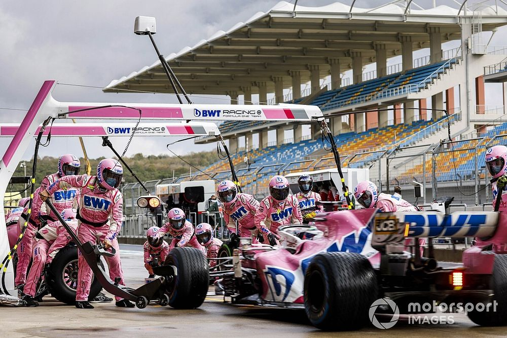 """Perez: Tyres would have """"exploded"""" with one more lap"""