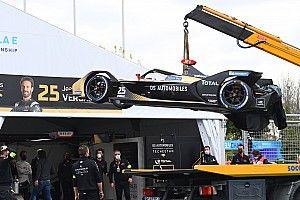 Kecerobohan Turvey Sebabkan Kecelakaan di FP1 Roma E-Prix