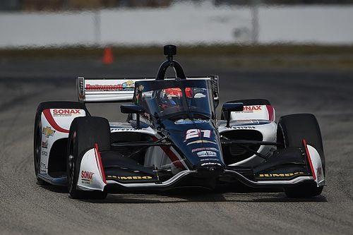 Nieuwe dempers en goed gevoel: VeeKay tevreden na IndyCar-test Sebring