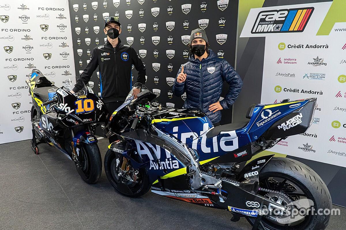 Az Avintia elsőként mutatta be a 2021-es motorját és versenyzőit