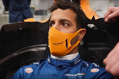 Ricciardo's snug McLaren showcases fine art of the F1 seat fit