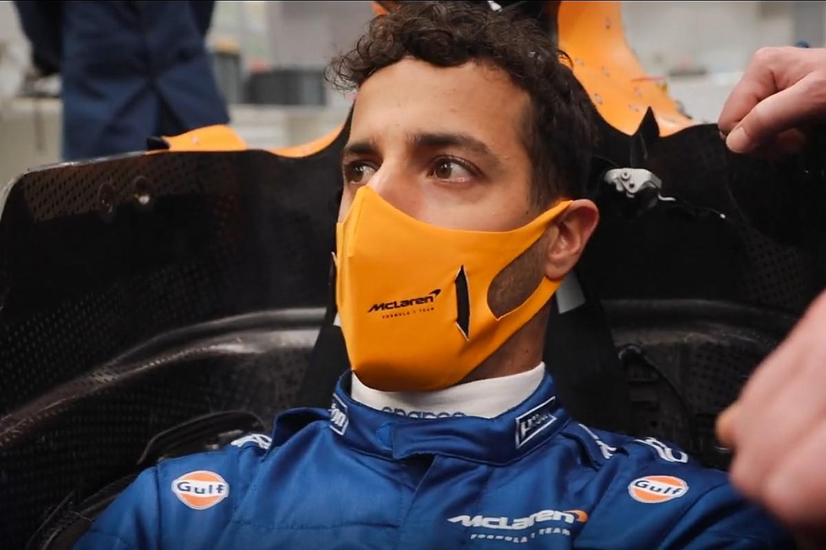 Ricciardo debutará con McLaren F1 esta misma semana