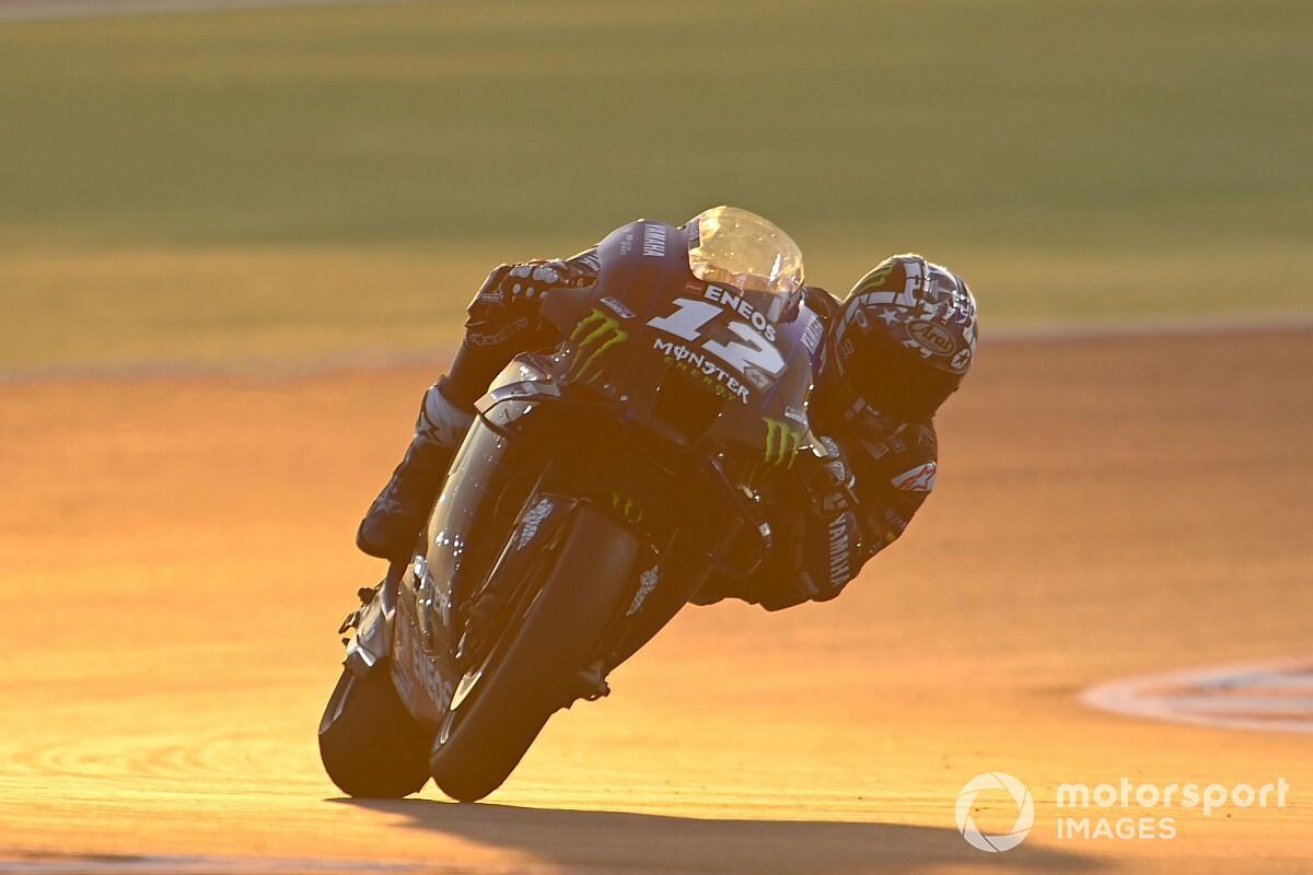 Vinales 'surprised' by Qatar MotoGP test long run pace on old bike