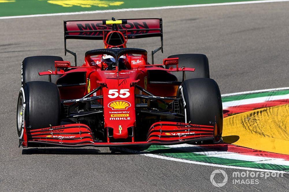 """Sainz: Imola Q2 exit """"exposed"""" lack of Ferrari F1 mileage"""