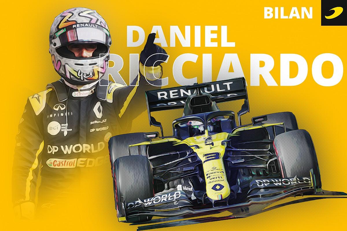Bilan 2020 - Ricciardo/Renault, pas tatoué à l'encre indélébile