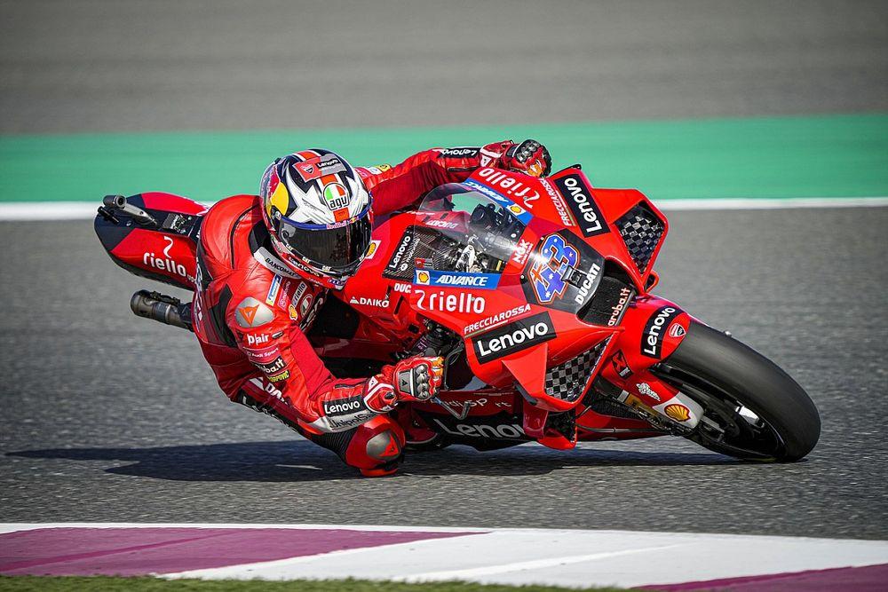 """MotoGP: Miller diz que GP de Doha """"não é uma vitória obrigatória"""" para a Ducati"""