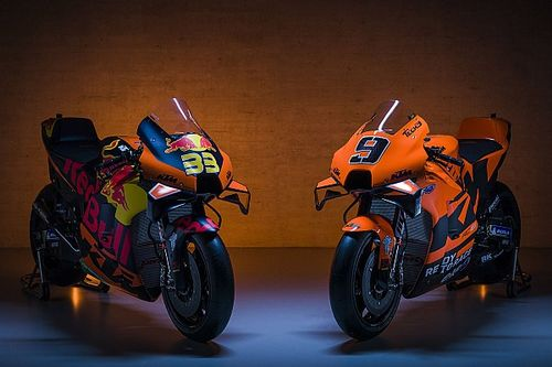 KTM and Tech 3 unveil 2021 MotoGP colours