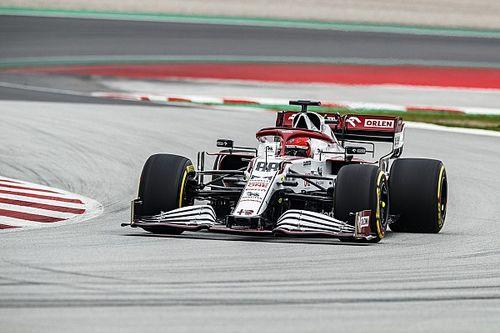 F1: Kubica sull'Alfa Romeo C41 nelle FP1 e nei test di Barcellona