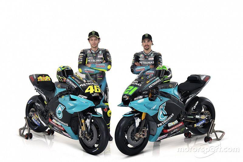 MotoGP: Petronas SRT divulga motos de Rossi e Morbidelli para 2021