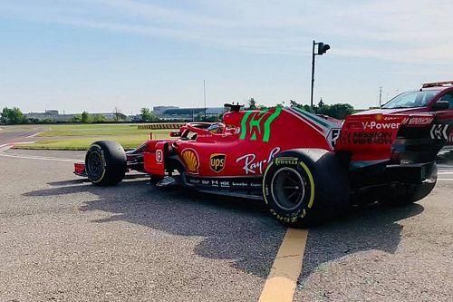 Sainz rueda hoy con el SF71H en Fiorano para seguir adaptándose