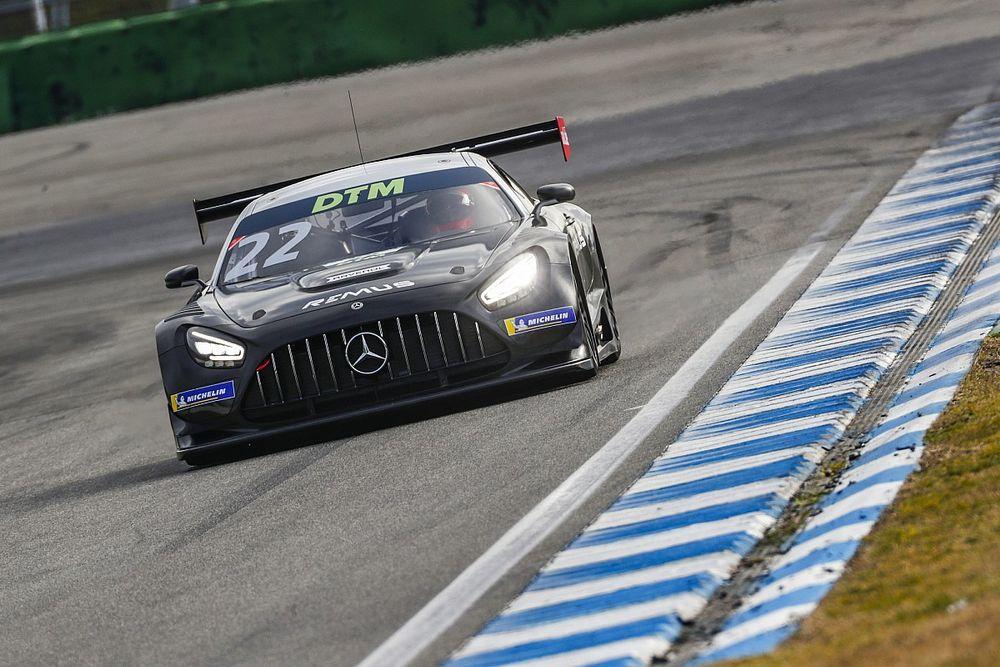 Auer Tercepat, Mercedes Dominasi Tes DTM di Hockenheim