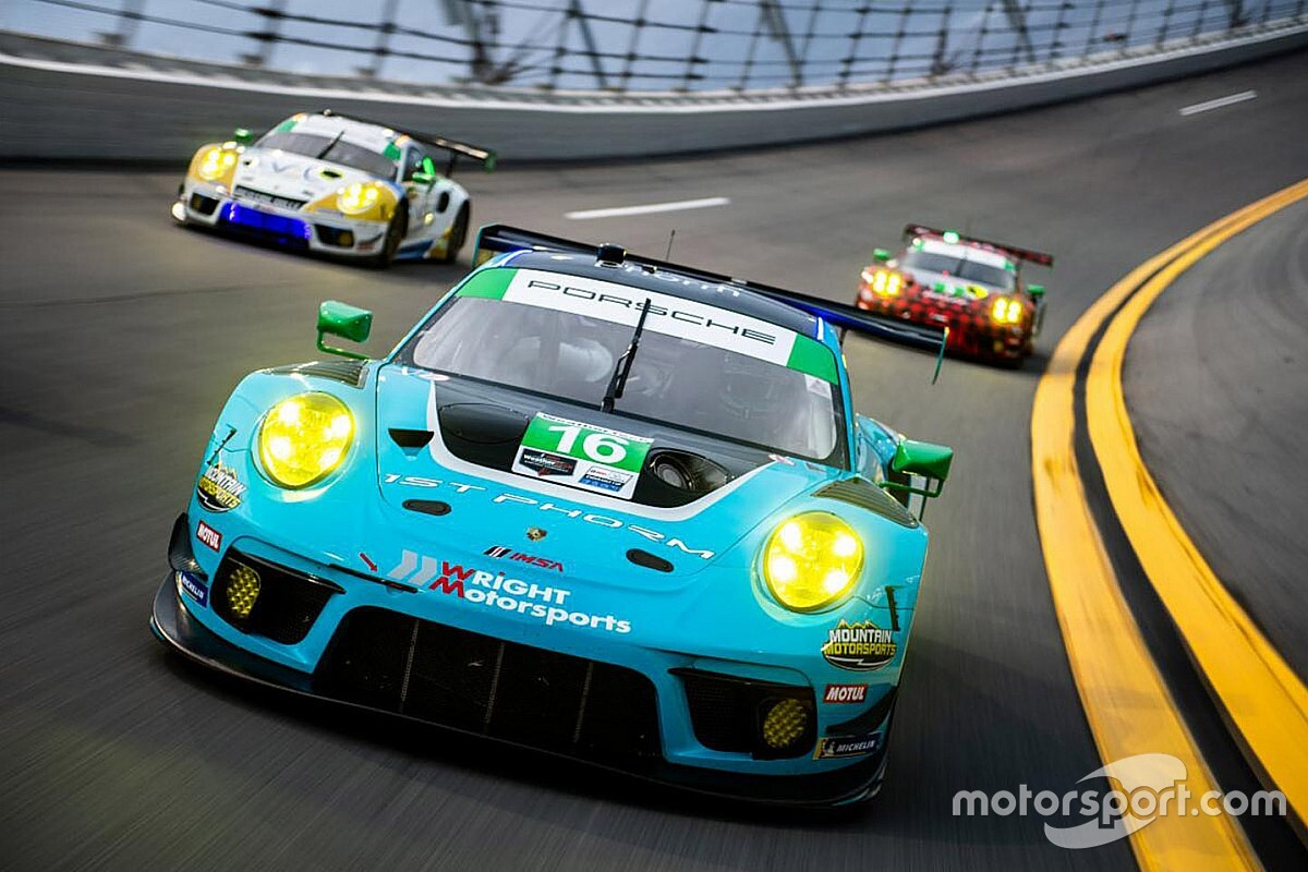 Heylen says Wright Porsche is a Rolex 24 victory contender