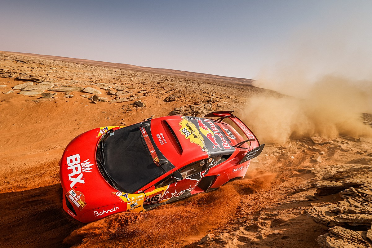 Las geniales fotos de la maratón de la etapa 8 del Dakar 2021