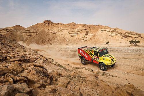 Vídeo: tremendo susto de un SSV con un camión en el Dakar