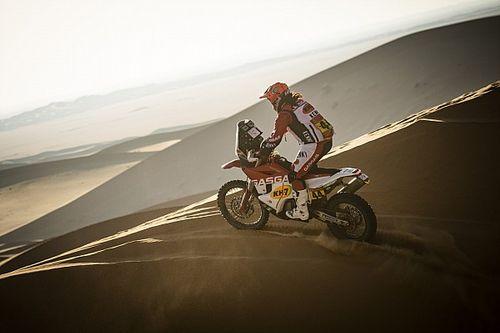 Laia Sanz empieza a encontrarse en el Dakar 2021