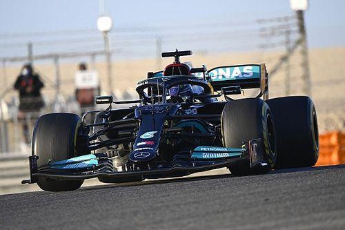 En Mercedes no tienen claro cuánto han mejorado respecto al test