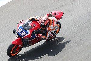 """Márquez: """"La moto del chasis de carbono es muy distinta y con ella hice el tiempo"""""""