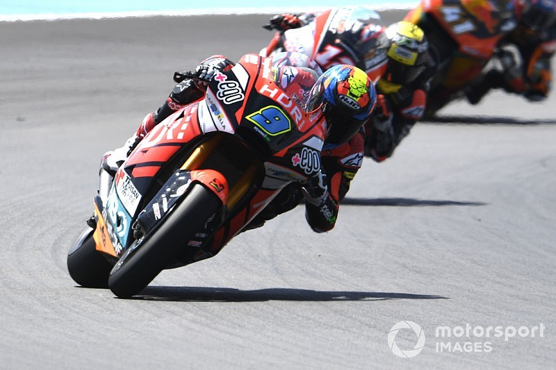 Moto2, Barcellona, Libere 3: doppietta Speed Up con Navarro e Di Giannantonio
