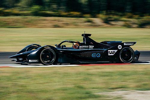 Mercedes completa un segundo test de Fórmula E