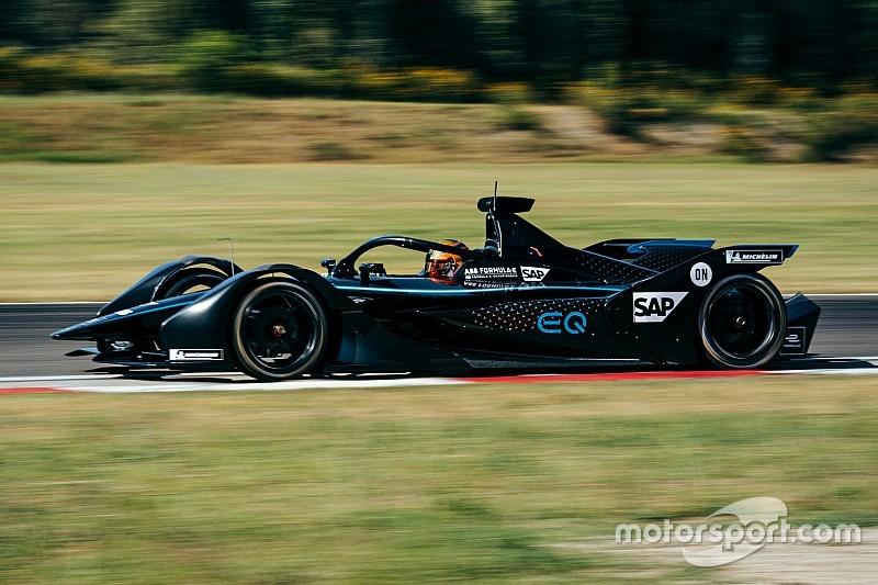 Mercedes completa su segunda prueba de Fórmula E