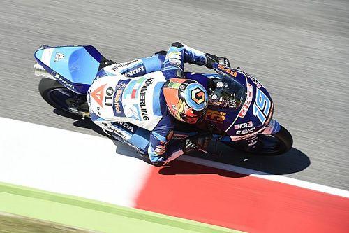 Rodrigo se lleva la pole en Moto3