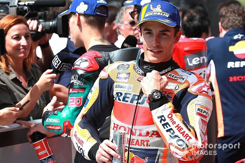 """Márquez: """"Ducati quería marcarme con Pirro y yo he marcado a Ducati"""""""
