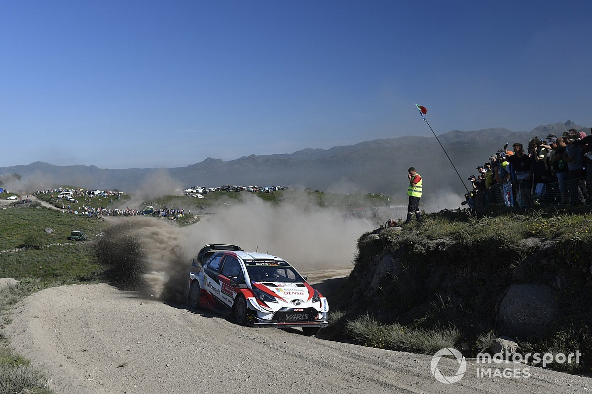 Portugal WRC: Tanak's lead eroded while Latvala retires