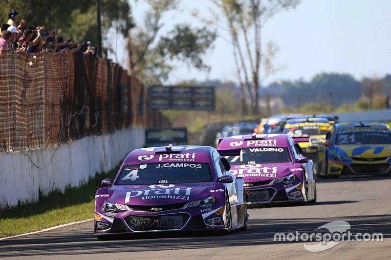 Stock Car: Prati-Donaduzzi comemora pódio com Campos e Valdeno